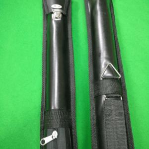 Case especial em tubo forrada para taco de sinuca